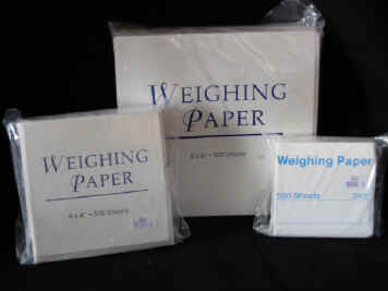 weight paper